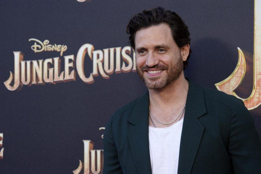 Edgar Ramirez poses for the actors shot